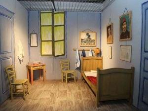 """La stanza ad Arles"" di Van Gogh nella mostra multimediale Vincent Van Gogh Multimedia & Friends"" a Parma"