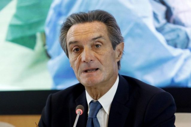 Il governatore Attilio Fontana