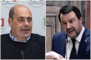 """Incontro Zingaretti-Salvini, leader Lega: """"Abbiamo parlato di lavoro, prevenire è meglio che curare"""""""