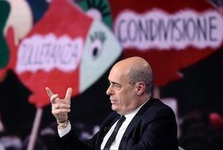"""Zingaretti risponde alle Sardine: """"Da loro straordinario contributo politico e civile"""""""