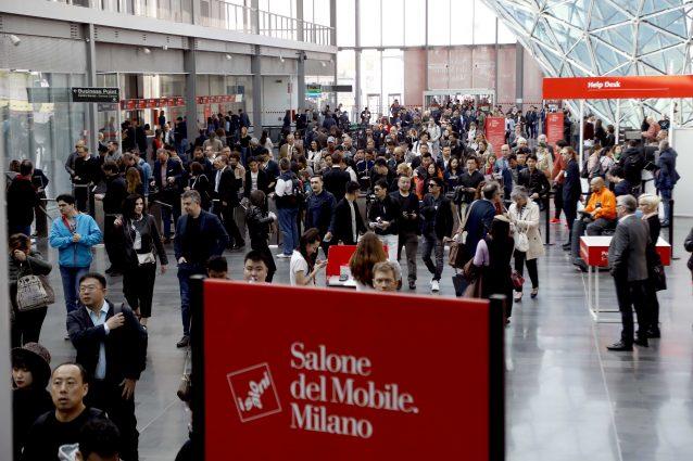 L'ultima edizione del Salone del mobile (LaPresse).