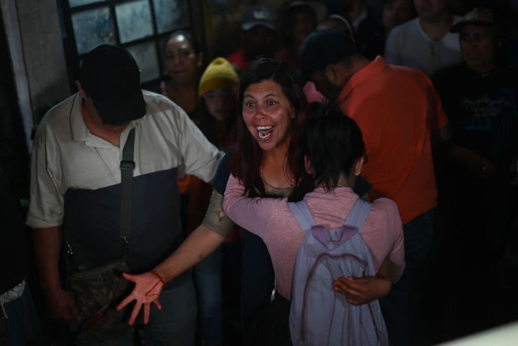 La disperazione di Maria Magdalena, la mamma di Fatima (Gettyimages)