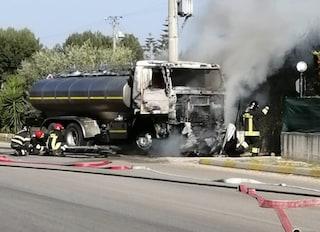 Dramma in strada, 30enne muore carbonizzato in auto dopo lo schianto con autocisterna a Bisceglie