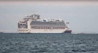 Coronavirus, 10 persone infette sulla nave da crociera in Giappone: migliaia in quarantena