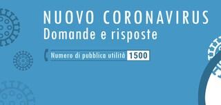 Coronavirus: al numero di pubblica utilità 1500 già arrivate centinaia di chiamate