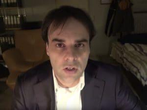 Tobias Rathjen nel video pubblicato su Youtube