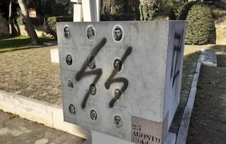 Ravenna, svastiche e insulti sul monumento dedicato ai morti della strage nazifascista