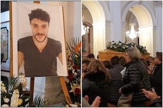 Lutto a Nissoria per i funerali di Calogero Gliozzo: folla per l'addio al 27enne