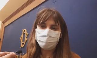 """Coronavirus, ecco la prima mascherina alla Camera dei deputati: """"Dovremmo metterla tutti"""""""