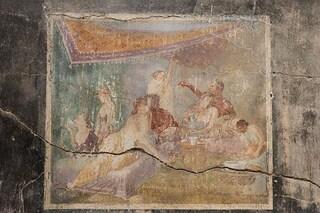 """Pompei, dopo 40 anni riapre la Casa degli Amanti. Franceschini: """"Storia di rinascita"""""""