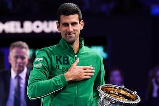 Djokovic batte Thiem in finale vince per l'8a volta gli Australian Open e torna numero 1
