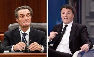 """Coronavirus, il fuorionda di Fontana su Renzi: """"Mi ha mandato un sms, odia più Conte che la Lega"""""""