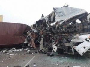Immagine dell'incidente da Twitter.