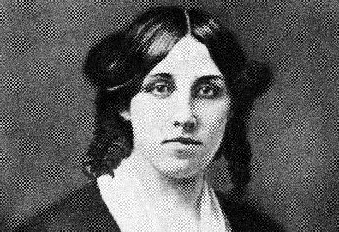 """Louisa May Alcott, la celebre autrice di """"Piccole donne"""", in un ritratto del 1832."""