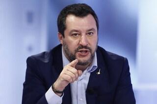 """Salvini alle Sardine: """"Abolire decreti Sicurezza? Forse tifano per i mafiosi e i delinquenti"""""""