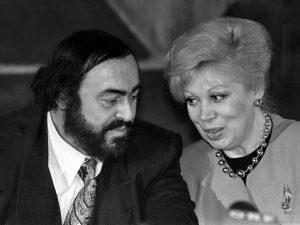 Mirella Freni con Luciano Pavarotti