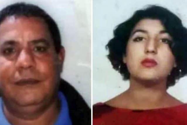 Naili Moncef e la moglie,Elvira Bruno