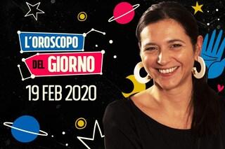 L'oroscopo del giorno 19 febbraio segno per segno: le previsioni dell'astrologa Ginny