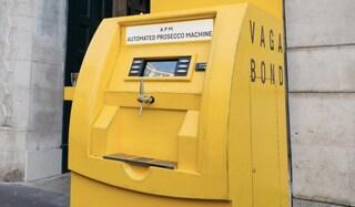 """Londra, rimosso il """"bancomat"""" che erogava Prosecco"""