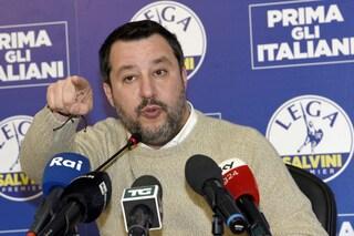 """Pil fermo, Salvini: """"Dato peggiore da 7 anni. Chi avvisa Conte, Renzi e Zingaretti?"""""""