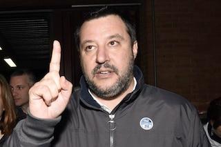 Per Matteo Salvini dopo la sua citofonata al Pilastro non ci sono più spacciatori nel quartiere