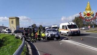 Cagliari: si schianta in auto, esce dalla vettura illeso ma si accascia a terra e muore