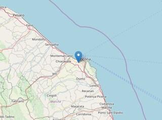 Terremoto nelle Marche, scossa di magnitudo 2.4 avvertita ad Ancona