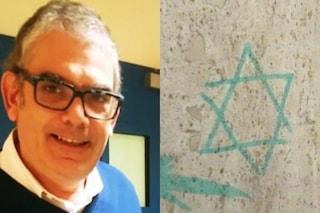 Torino, trovate Stella di David e scritte antisemite sulla porta di casa di Marcello Segre