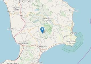 Terremoto in Calabria, scossa di magnitudo 2.8 sveglia Albi e la provincia di Catanzaro