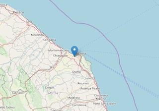 Marche, la terra trema ancora: terremoto di magnitudo 3.2 tra Pesaro e Ancona