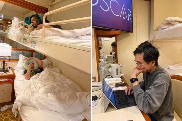 La vita in quarantena a bordo della Diamond Princess (Aun Na Tan)