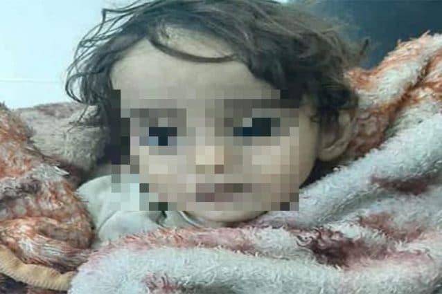 Iman, la bimba siriana di 1 anno e mezzo morta assiderata nel nord–ovest della Siria