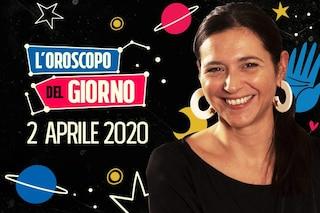 L'oroscopo del giorno 2 aprile: grande determinazione per Capricorno e Acquario
