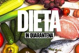 Dieta in quarantena: i 5 consigli della nutrizionista per mangiare bene ed evitare gli eccessi