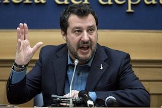"""Salvini annuncia mozione di sfiducia a Gualtieri: """"Accordo Eurogruppo è Caporetto per l'Italia"""""""