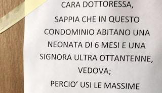 """Coronavirus, i condomini mettono alla gogna la dottoressa che vive nel palazzo: """"Stia attenta"""""""