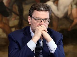 """Referendum divide la Lega, Giorgetti voterà No: """"Taglio improponibile, Sì sarebbe favore a governo"""""""