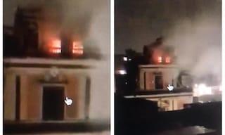 Maltempo Sicilia, bomba d'acqua sulla Catania-Siracusa. Fulmine colpisce chiesa