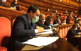 """Salvini: """"Se Cina ha coperto l'epidemia ha commesso un crimine contro l'umanità"""""""