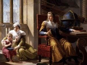 """Pelagio Palagi, """"Newton scopre la rifrazione della luce"""" (1827), Musei Civici di Arte e Storia, Brescia."""