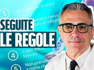 Il professor Fabrizio Pregliasco, virologo dell'Università degli Studi di Milano