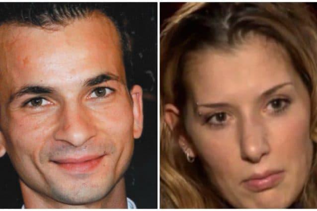 Michele Cangialosi, la vittima e Celeste Saieva