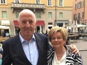 Silverio e Carla Polini (Foto da Facebook)