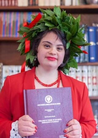 Udine, si laurea la prima studentessa con sindrome di Down: Maria Chiara è dottoressa da 110 e lode