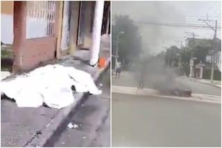 Apocalisse Ecuador, cadaveri bruciati in strada o gettati nei cassonetti