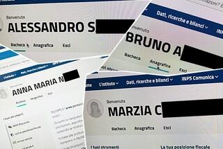 Il sito dell'Inps sta esponendo i dati dei cittadini: l'accesso rimanda ai profili degli italiani