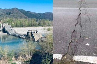 """Ponte crollato ad Aulla, era stata segnalata una grossa crepa ma l'Anas disse: """"È tutto ok"""""""