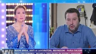"""Matteo Salvini: """"Criticato da giorni per 10 secondi di preghiera in memoria dei morti"""""""