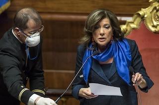 """La presidente del Senato Casellati contro Conte: """"Basta ai dpcm calati dall'alto"""""""