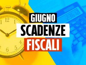 Scadenze fiscali giugno 2020: tutti i versamenti e le date da ricordare